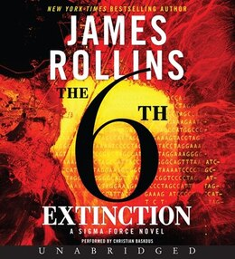 Book The 6th Extinction Unabridged Cd by James Rollins