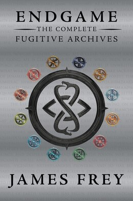 Book Endgame: The Fugitive Archives Bind-up #3 by James Frey