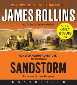 Book Sandstorm Low Price Cd by James Rollins