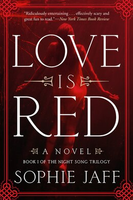 Book Love Is Red: A Novel by Sophie Jaff