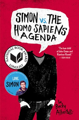 Book Simon vs. the Homo Sapiens Agenda by Becky Albertalli