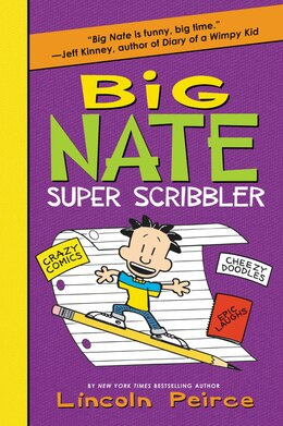 Book Big Nate Super Scribbler by Lincoln Peirce