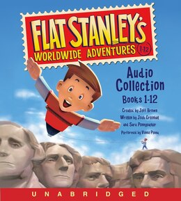 Book Flat Stanley's Worldwide Adventures Audio Collection: Books 1-12: Books 1-12 by Jeff Brown