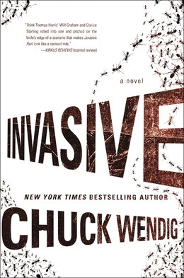 Book Invasive: A Novel by Chuck Wendig