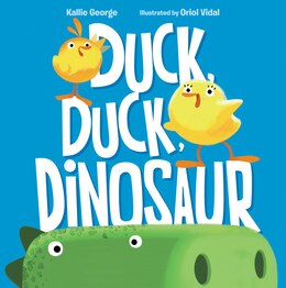 Book Duck, Duck, Dinosaur by Kallie George