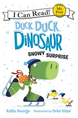 Book Duck, Duck, Dinosaur: Snowy Surprise by Kallie George