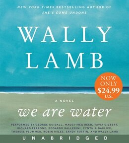 Book We Are Water Low Price Cd: A Novel by Wally Lamb