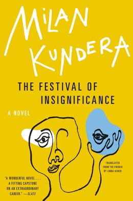 Book The Festival of Insignificance: A Novel by Milan Kundera