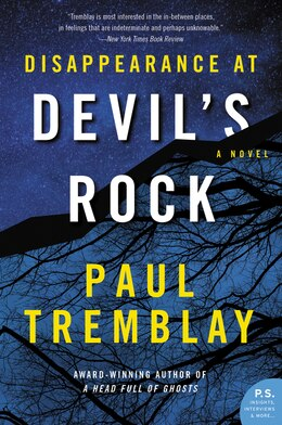 Book Disappearance At Devil's Rock: A Novel by Paul Tremblay