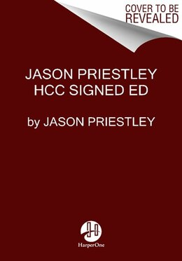 Book Jason Priestley Signed Ed by Jason Priestley