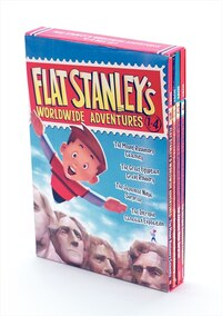 Flat Stanley's Worldwide Adventures #1-4 Box Set