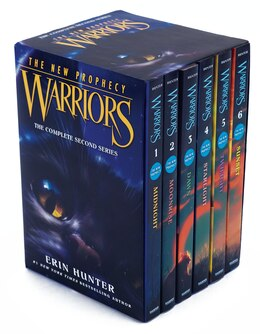 Book Warriors: The New Prophecy Box Set: Volumes 1 To 6: The Complete Second Series by Erin Hunter