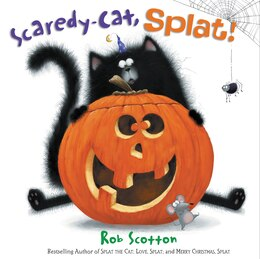 Book Scaredy-Cat, Splat! by Rob Scotton