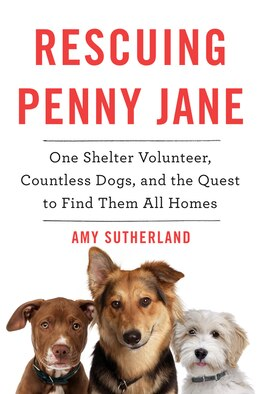 Book Rescuing Penny Jane: One Shelter Volunteer, Countless Dogs, and the Quest to Find Them All Homes by Amy Sutherland