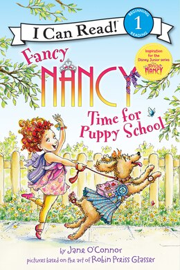 Book Fancy Nancy: Time For Puppy School by Jane O'Connor