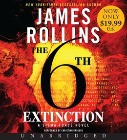 Book The 6th Extinction Low Price Cd: A Sigma Force Novel by James Rollins