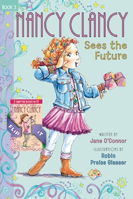Book Fancy Nancy: Nancy Clancy Bind-up: Books 3 And 4: Sees The Future And Secret Of The Silver Key by Jane O'Connor