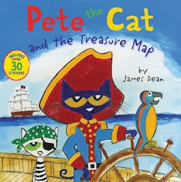Book Pete The Cat And The Treasure Map by James Dean