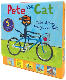 Book Pete The Cat Take-along Storybook Set: 5-book 8x8 Set by James Dean