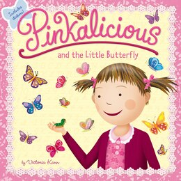 Book Pinkalicious And The Little Butterfly by Victoria Kann