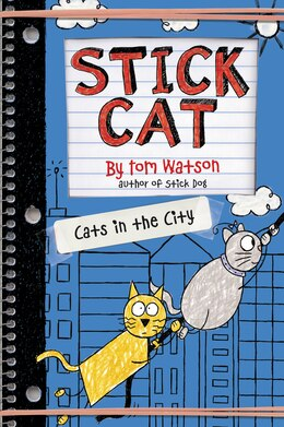 Book Stick Cat: Cats In The City by Tom Watson