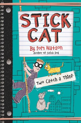 Book Stick Cat: Two Catch A Thief by Tom Watson