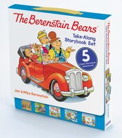 The Berenstain Bears Take-Along Storybook Set: Dinosaur Dig, Go Green, When I Grow Up, Under the…