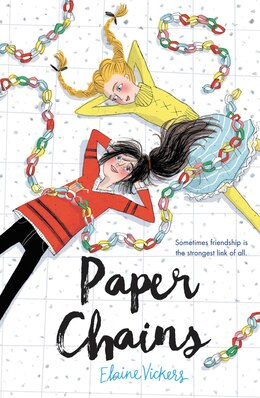 Book Paper Chains by Elaine Vickers