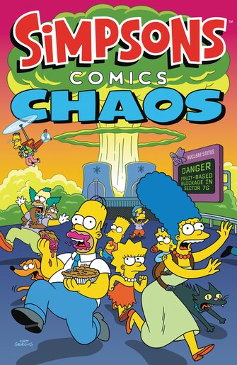 Simpsons Comics Chaos by Matt Groening