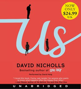 Book Us Low Price CD: A Novel by David Nicholls