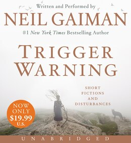 Book Trigger Warning Low Price Cd: Short Fictions And Disturbances by Neil Gaiman