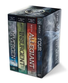 Book Divergent Series Four-Book Paperback Box Set: Divergent, Insurgent, Allegiant, Four by Veronica Roth