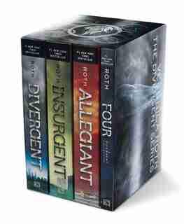 Divergent Series Four-Book Paperback Box Set: Divergent, Insurgent, Allegiant, Four by Veronica Roth