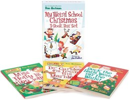 Book My Weird School Christmas 3-Book Box Set: Miss Holly Is Too Jolly!, Dr. Carbles Is Losing His… by Dan Gutman