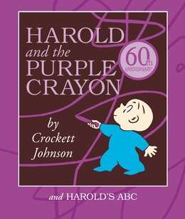 Book Harold And The Purple Crayon Board Book Box Set: Harold and the Purple Crayon and Harold's ABC by Crockett Johnson