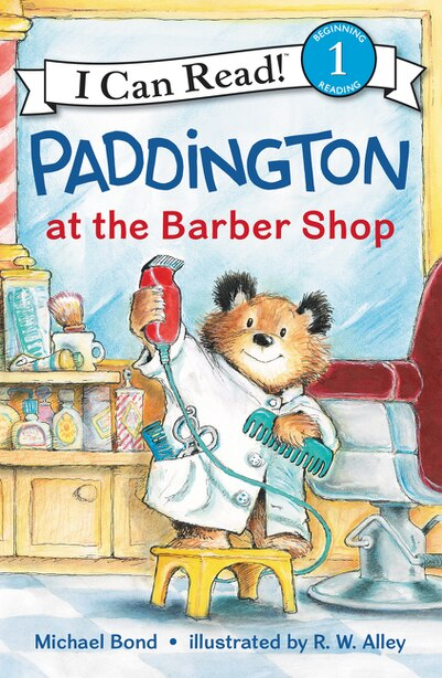 Paddington At The Barber Shop by Michael Bond