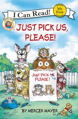 Book Little Critter: Just Pick Us, Please! by Mercer Mayer