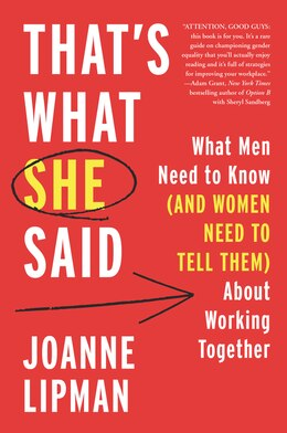 Book Women, Men, And Work by Joanne Lipman