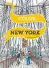 Color New York: 20 Views to Color in by Hand by Emma Kelly