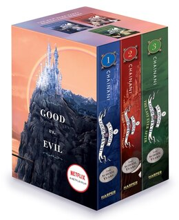 Book The School for Good and Evil Series Complete Paperback Box Set: Books 1-3 by Soman Chainani