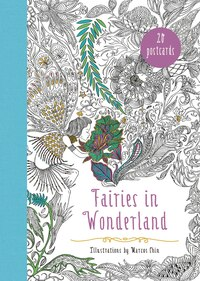 Fairies in Wonderland 20 Postcards: An Interactive Coloring Adventure for All Ages