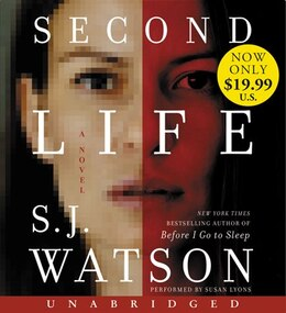 Book Second Life Low Price CD: A Novel by S. J. Watson