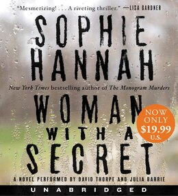Book Woman with a Secret Low Price CD: A Novel by Sophie Hannah