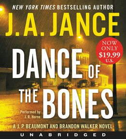 Book Dance of the Bones Low Price CD: A J. P. Beaumont and Brandon Walker Novel by J. A. Jance