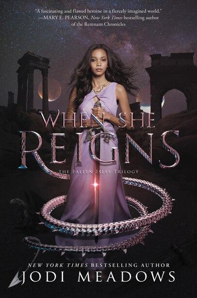 When She Reigns by Jodi Meadows
