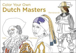 Book Color Your Own Dutch Masters by Van Gogh Museum Amsterdam