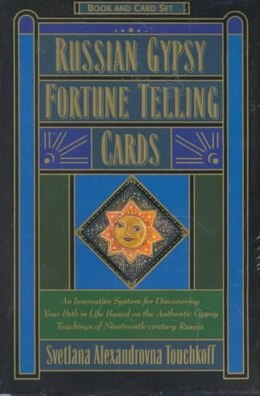 Book Russian Gypsy Fortune Telling Cards by Svetlana A. Touchkoff