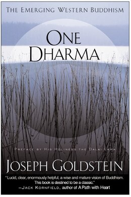Book One Dharma: The Emerging Western Buddhism by Joseph Goldstein