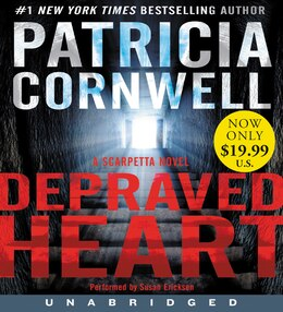 Book Depraved Heart Low Price CD: A Scarpetta Novel by Patricia Cornwell