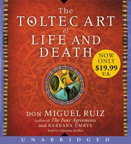 Book The Toltec Art of Life and Death Low Price CD by don Miguel Ruiz